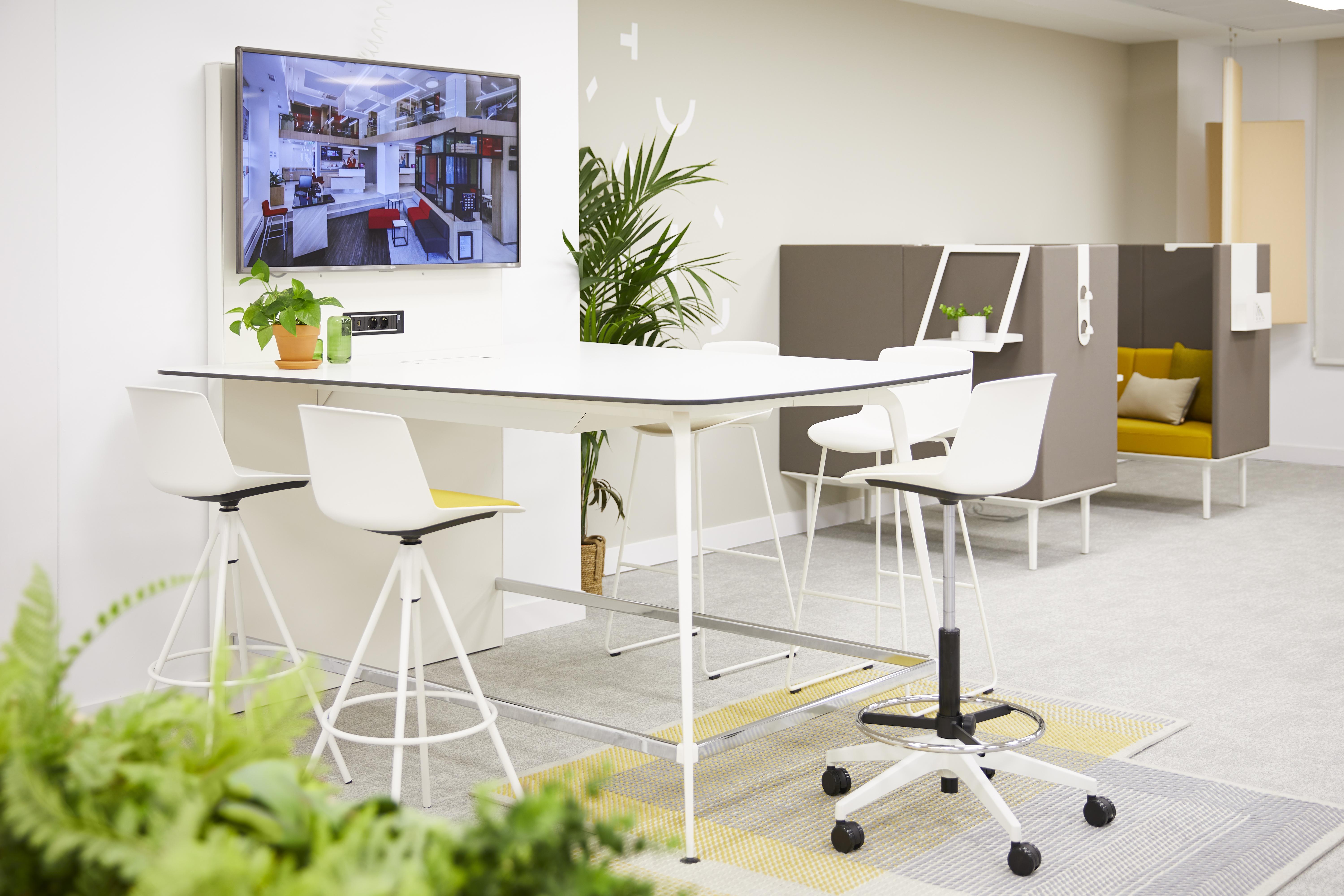 Actiu adapta espacios hoteleros para el co-working