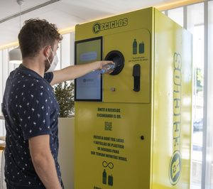 Ecoembes implantará máquinas que recompensan por reciclar