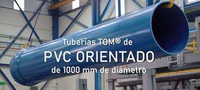 Molecor lanza tubería de PVC orientado de 1000 mm de diámetro