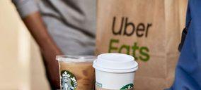 Uber Eats incorpora Starbucks a su oferta a domicilio