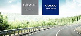 Volvo y Daimler apuestan por los camiones de hidrógeno