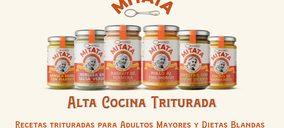 Mitata lanza sus primeras recetas trituradas para adultos