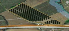 Así será el parque fotovoltaico de autoconsumo de LC Paper, que ya tiene luz verde