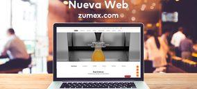 Zumex presenta su nueva web y rediseña su tienda online
