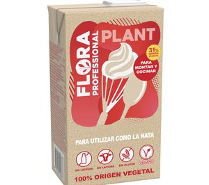 Upfield incorpora Flora Plant, una alternativa vegetal a la nata libre de alérgenos