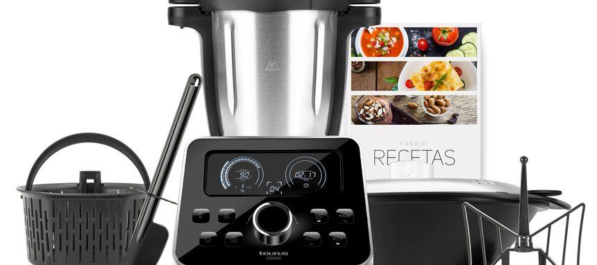 Llega Foodie, la nueva generación de robot de cocina de Taurus