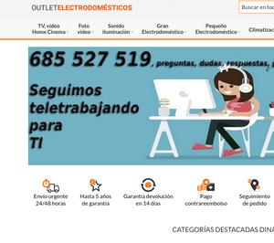 Panelectrónica se declara en concurso y concentra las operaciones en el ecommerce Outlet Electrodomésticos