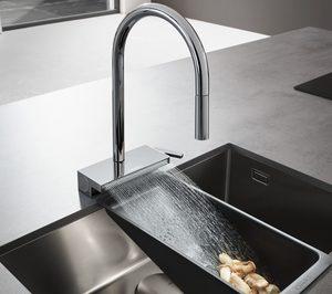 Hansgrohe presenta la grifería de cocina Aquno Select M81