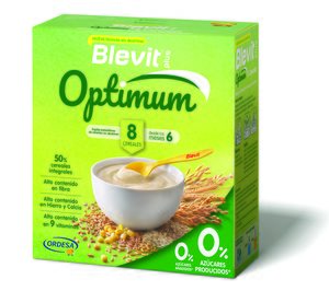 Laboratorios Ordesa lanza la nueva fórmula de papillas Blevit Plus Optimum
