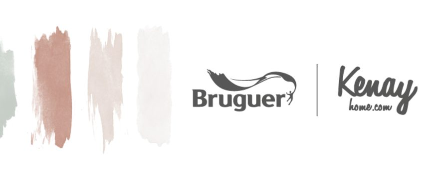 Bruguer presenta la primera colección de pintura de Kenay Home