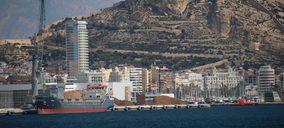 El tráfico portuario descendió un 5,5% en el mes de octubre