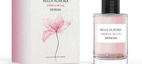 Bella Aurora entra en la categoría de fragancias