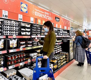 El 70% del surtido navideño de la marca Deluxe de Lidl es español