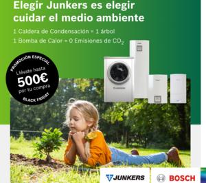 Junkers dobla su campaña del Black Friday en calderas y bombas de calor hasta 500 €