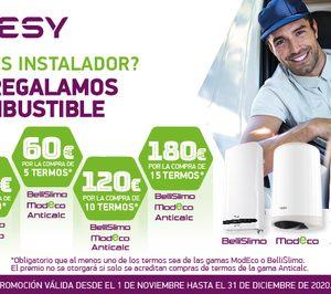 Tesy lanza una promoción con descuentos en combustible para instaladores