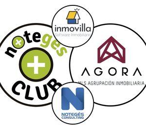 Agora MLS, Club Notegés e Inmovilla crean una gran red inmobiliaria