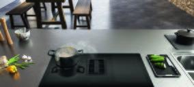 Franke Maris un modelo con placa de inducción y campana integrada