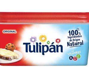 Upfileld avanza en su estrategia de naturalidad con Tulipán 100% natural