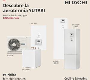 Hitachi presenta el sistema de aerotermia Yutaki