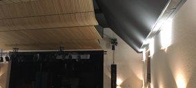 Placo acondiciona el Auditorio de San Martín de la Vega