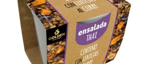 Golden Foods entra la categoría de ensaladas con tres propuestas veganas