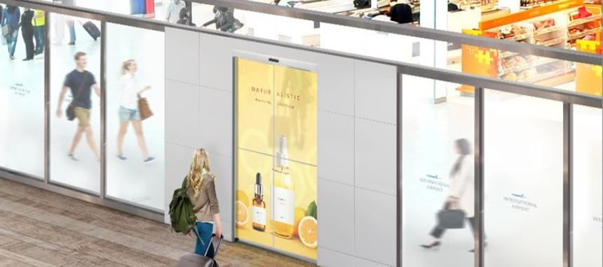 Assa Abloy y LG fabricarán una puerta automática transparente OLED