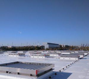 La lámina TPO de BMI instalada en el nuevo Hospital de Emergencias Isabel Zendal en Madrid