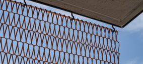 Codina Architectural lanza sus mallas metálicas en cobre para fachadas