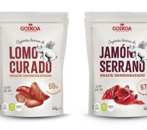 Goikoa aterriza en los snacks proteínicos gracias a su última ampliación