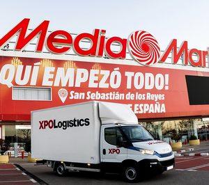 MediaMarkt Iberia amplía sus acuerdos para la última milla con XPO Logistics
