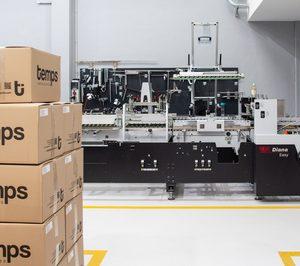 Temps expande su negocio hacia la impresión de packaging