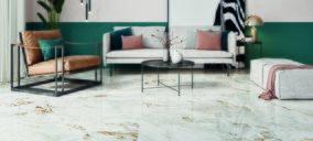 Gala presenta Melrouse, un pavimento en mármol cerámico