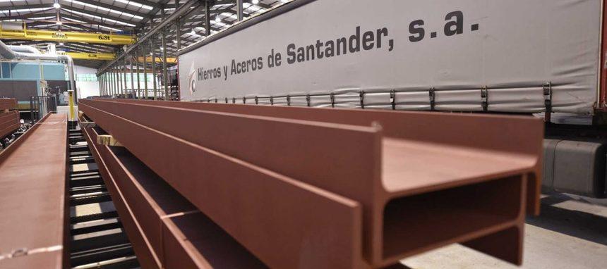 Hierros y Aceros Santander desembarca en Navarra y abrirá nuevo almacén