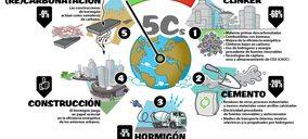 La industria cementera prevé reducir un 43% sus emisiones para 2030