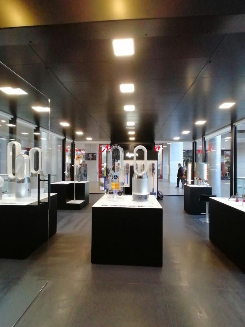 Dyson instala su primer showroom en Barcelona