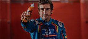Fernando Alonso apuesta por las isotónicas 'Raw'