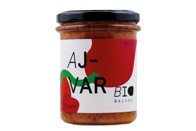 Pasta picante de pimiento morrón ecológico Ajvar, de Bio Balkan (2)