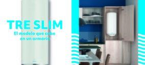 Groupe Atlantic lanza Tre Slim, el termo de Edesa que cabe en un armario