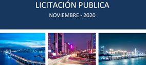La licitación de obra pública suaviza su descenso en noviembre