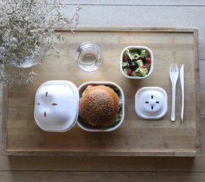 Cookplay presenta Eko Burger Set, una solución biodegradable para el delivery