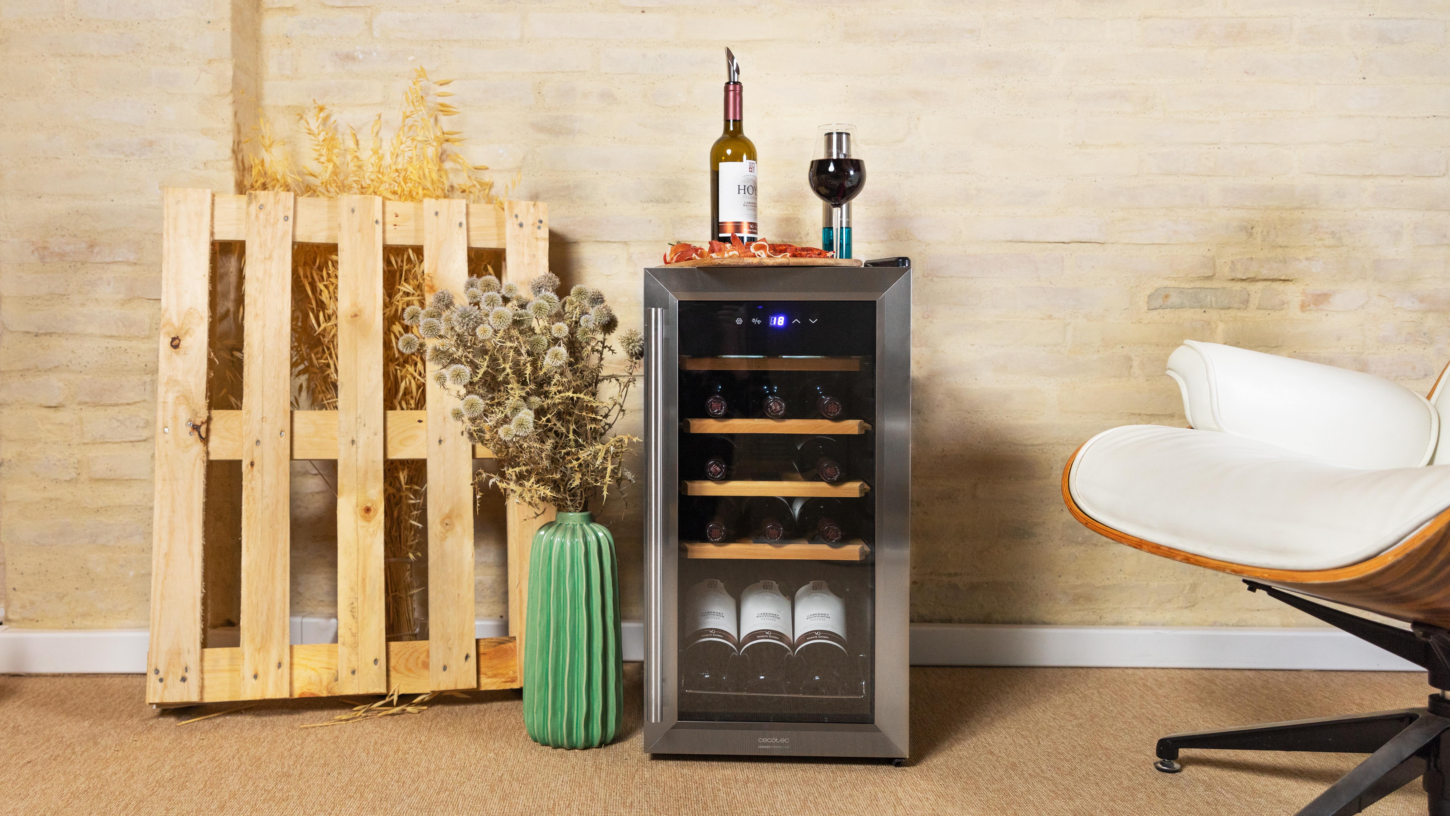 Cecotec amplía su catálogo de vinotecas GrandSommelier
