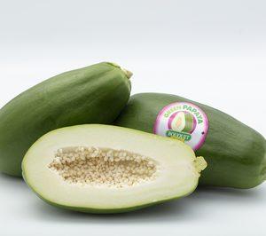 Anecoop incluye a su oferta la papaya verde, una fruta que se consume como hortaliza