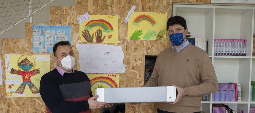Jata dona purificadores de aire a Save the Children