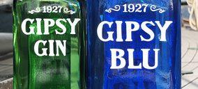 La ginebra low-alcohol 'Gipsy Blu' aterriza en el lineal y se fortalece en horeca