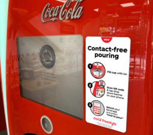 "Coca-Cola trae a España un ""contactless"" para el relleno de bebidas en horeca"