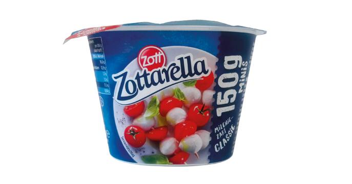 Mini queso mozzarella cremoso y tierno estilo clásico Zott Zottarella (1)