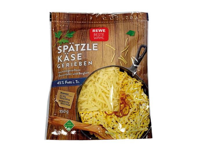 Queso rallado suabo para pasta Rewe Beste Wahl (3)