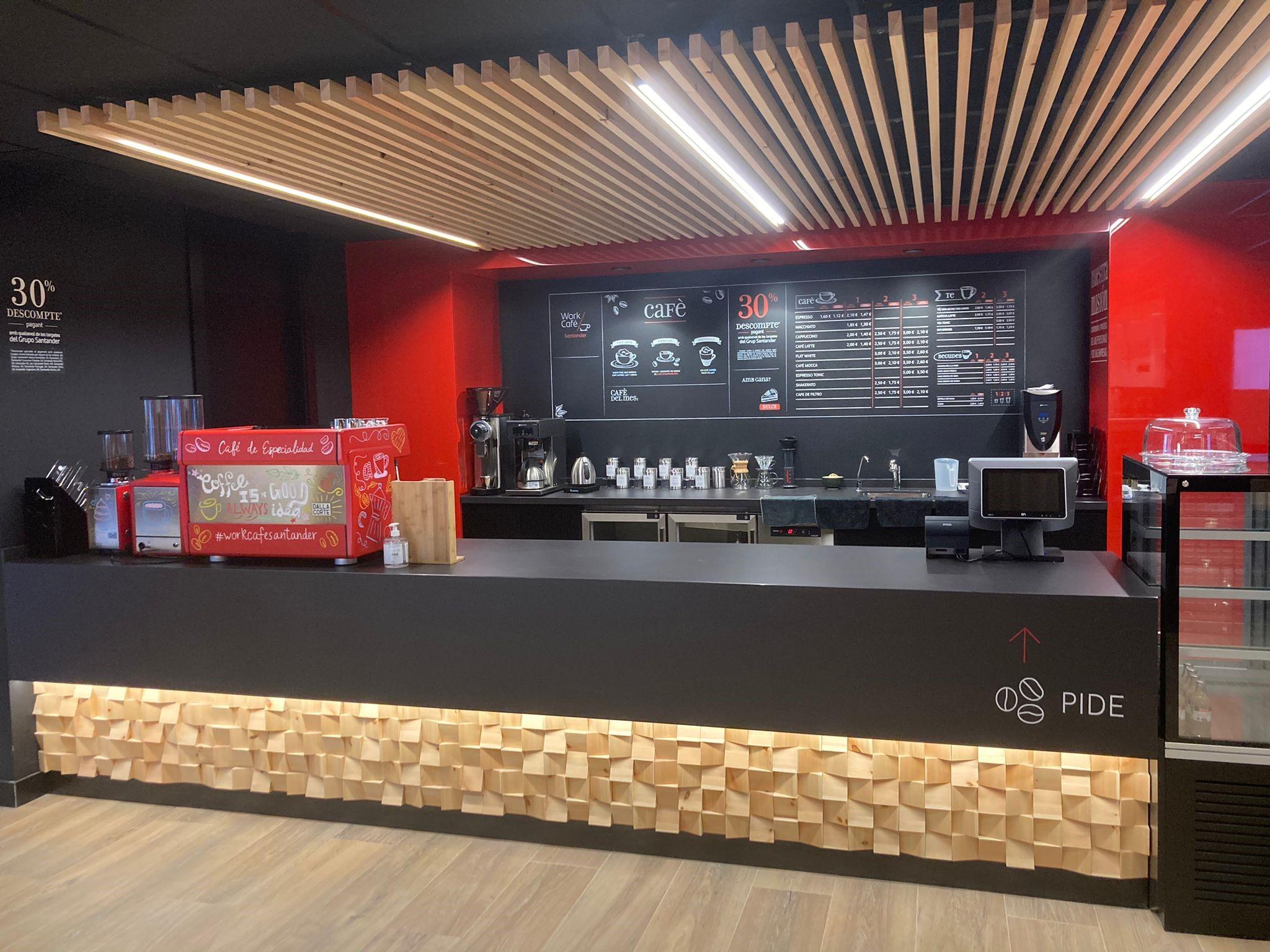 Banco Santander abre su segundo 'Work Café' en Barcelona