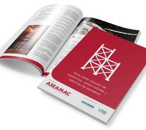 Aseamac presenta la Guía sobre alquiler de andamios, torres móviles y sistemas de escaleras