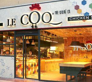 Le Coq abre en el centro de Madrid un local y una cocina fantasma